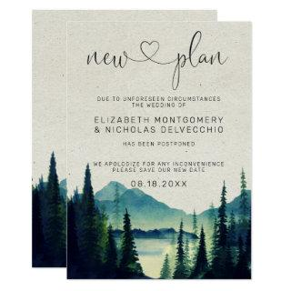 Mountain Wedding | Postponed Wedding Announcement