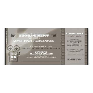 Movie Premiere ENGAGEMENT PARTY Tickets Invitations
