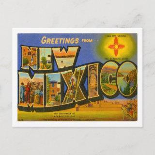 NEW MEXICO SAVE THE DATE ANNOUNCEMENT POSTCARDS