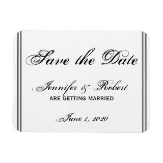 New Orleans Destination Save the Date Magnet