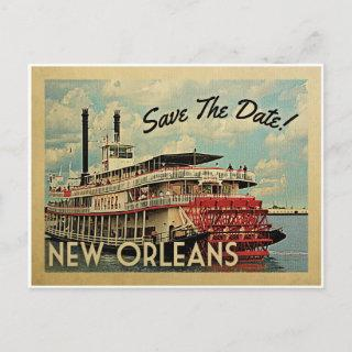 New Orleans Save The Date Vintage Postcards
