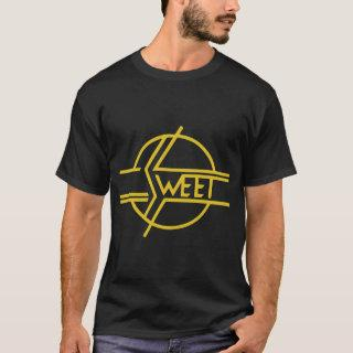 New THE SWEET BAND Glam 70s Classic Rock Band 70s T-Shirt