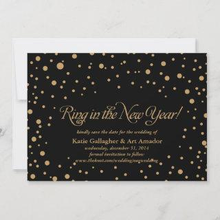 New Years Eve Save the Date Announcement