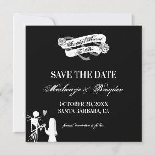 Nightmare Before Christmas - Save The Date