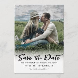 On the Horizon, Photo Save the Date Invitations