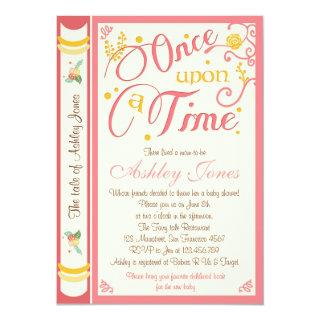 Once Upon A Time Baby Shower Invitations Fairy Tale