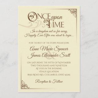 Once Upon a Time Wedding