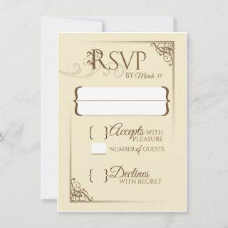 Once Upon a Time Wedding RSVP