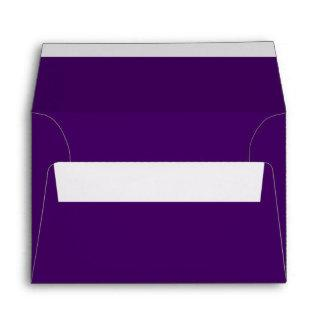 Only purple deep cool solid color OSCB15 Envelope