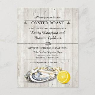 Oyster Roast Seafood Nautical Party