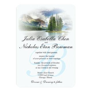 Peaceful Lakeside Wedding or Your Occasion Invites