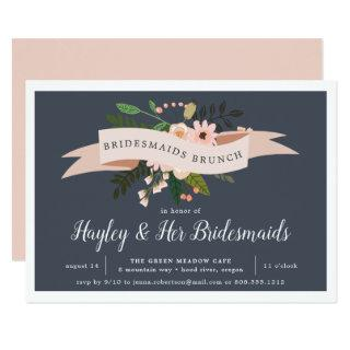 Peach Meadow | Bridesmaids Brunch Invitation