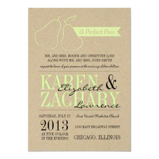 Perfect Pear Wedding Invitations