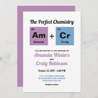 Periodic Table of the Elements Invitations