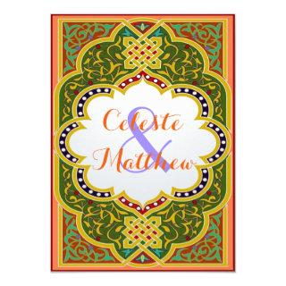 Persian Turkish Arabian Moroccan Wedding or Party Invitation