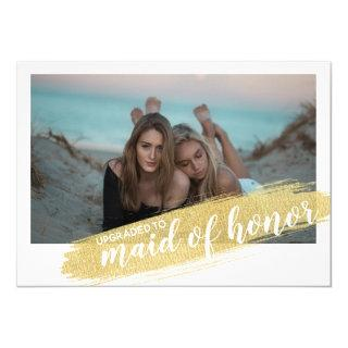 [Personalized] Maid of Honor Proposal Photo Card