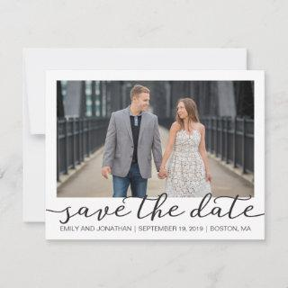Photo Save the Date Cards with White Border