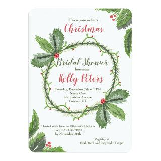 Pine and Berries Invitations
