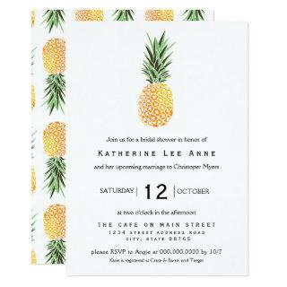 Pineapple Southern Bridal Shower Invitation