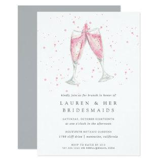 Pink Champagne | Bridesmaids Brunch Invitation