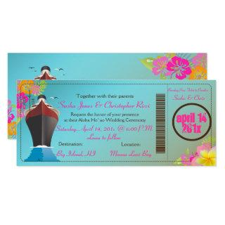 PixDezines Boarding Pass/Love Boat/Cruise Ship Invitations