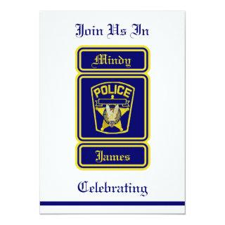Policeman Wedding Invitation