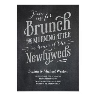 Post Wedding Brunch Invitations
