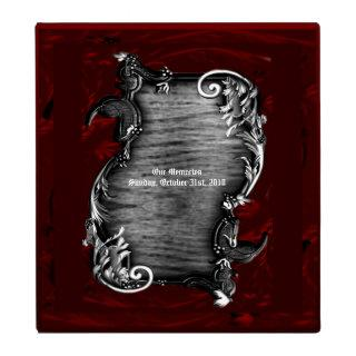 Proclamation Vampire Gothic Wedding 3 Ring Binder