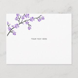 Purple Cherry Blossom Directions Insert