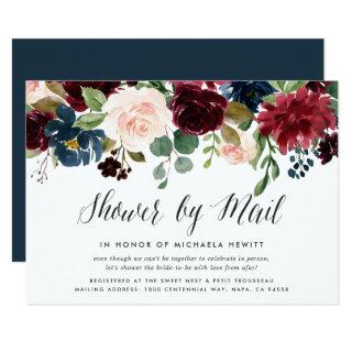 Radiant Bloom Baby or Bridal Shower By Mail Invitation