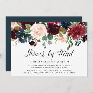 Radiant Bloom Baby or Bridal Shower By Mail Invitations