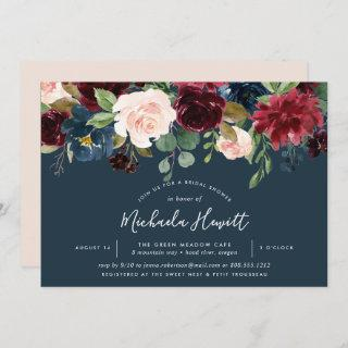 Radiant Bloom | Watercolor Floral Bridal Shower Invitations