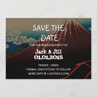 Rainstorm Beneath the Summit Save The Date