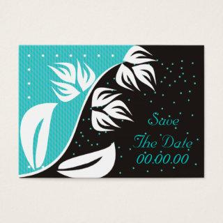 Rare Flower Affordable Save The Date Cards