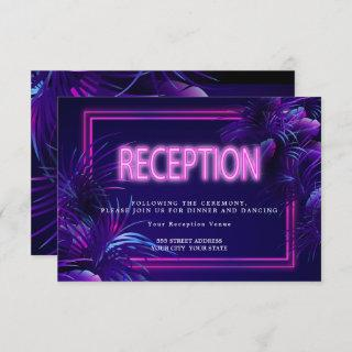 Reception | Tropical Glow Invitations