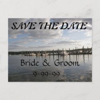 Reflections SAVE THE DATE Announcement Postcard
