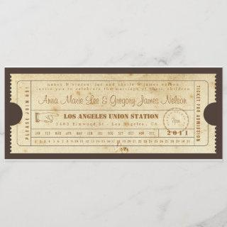 Rehearsal or Welcome Dinner - Ticket Invitations