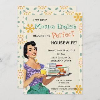 Retro 1950's Housewife Bridal Shower