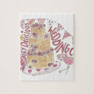 Ridiculously Delicious Wedding Cake Jigsaw Puzzle