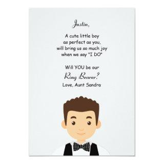 Ring Bearer Request Card