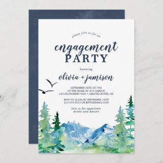 Rocky Mountain Engagement Party Invitation