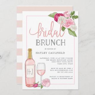 Rosé Garden | Bridal Brunch Invitation