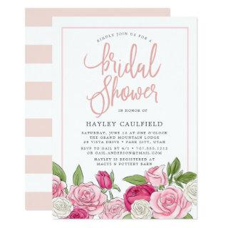 Rose Garden | Bridal Shower Invitation