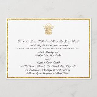 Royal Wedding Invitation Replica | UK London