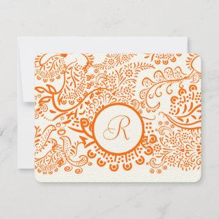 RSVP Cards-Require the 5 x 7 size Inivitations