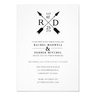 Rustic Arrow | Wedding Invitation