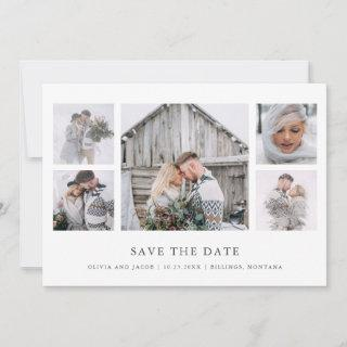 Rustic Chic | Photo Grid Save The Date