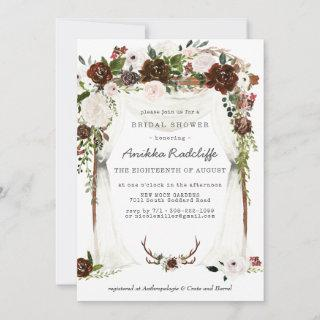 Rustic Country Floral | Bridal Shower