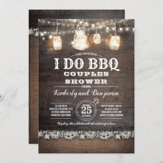 Rustic Country - I DO BBQ Couples Shower