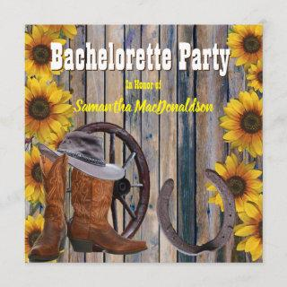 Rustic country ranch bachelorette party
